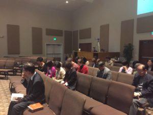 올림피아 임마누엘교회 첫예배 (10/15/2017)