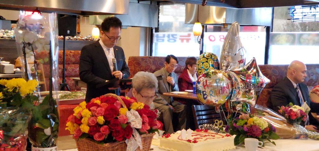 2020년 1월 18일 (토)이정숙권사님 팔순축하예배사진